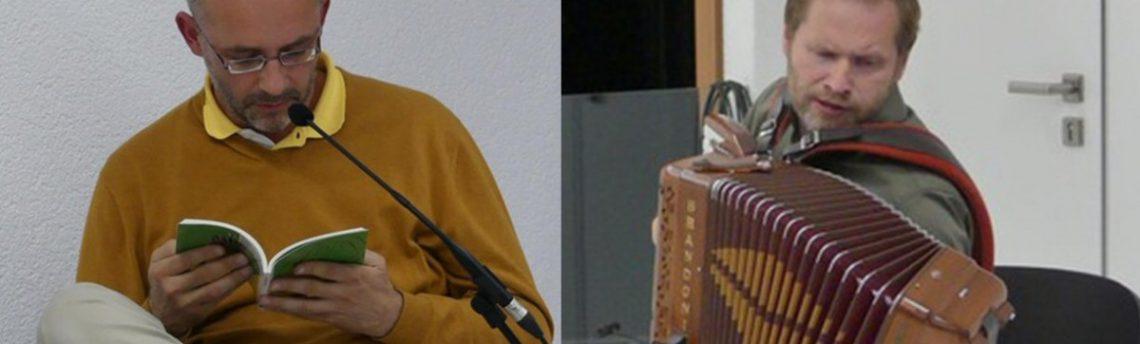 Torek, 20. 3. ob 18.30 – Peter Svetina, Jure Tori – Literarno Glasbeni večer – Zaigrati na srčne tipke