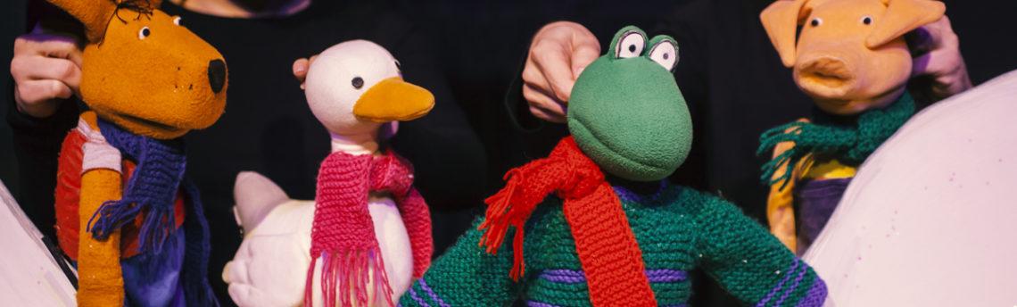 Četrtek, 12. 12. ob 17.00 – Žabec pozimi – Gledališče Frufru – lutkovni abonma
