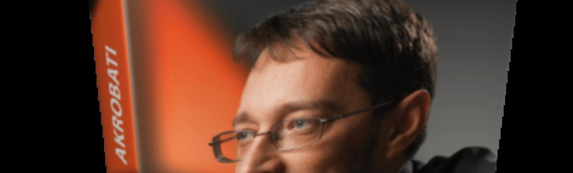 Četrtek, 7. 10. ob 19.00 – Akrobati (Petra Škarja) – dr. Jure Knez o razvoju podjetja Dewesoft